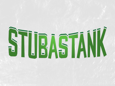 Stubastank - Title icon branding expressive a to z gamedev gaming game stu rocket logo team team logo sport esports design logo art typography