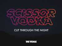 Scissor Vodka Logo
