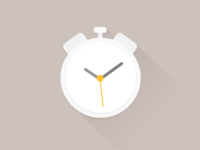 Simple Alarm Clock Illustration