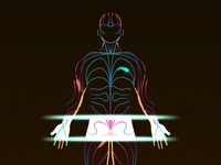 Body Scan Meditation Illustration