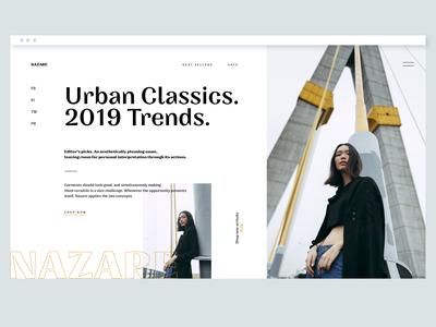 UI Design | Fashion