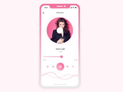 Music Player UI concept | UI#01