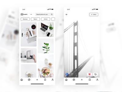 FreePic - UI Design App