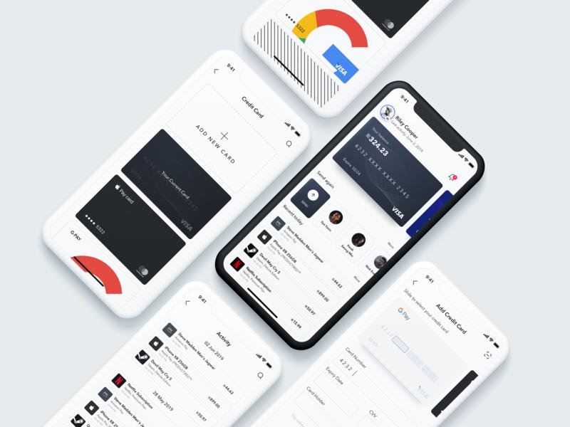 WELLPAY - Wallet app concept wallet app libra wallet design appui firstshot uidesign designapp