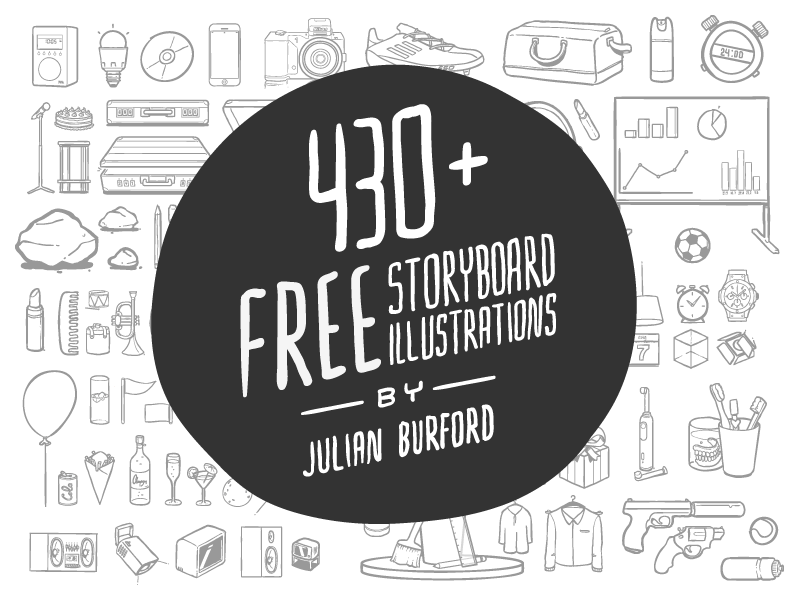 430+ FREE storyboard illustrations sketch storyboard template placeholders illustrations
