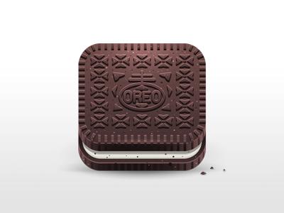 Oreo illustration oreo cookie icon food