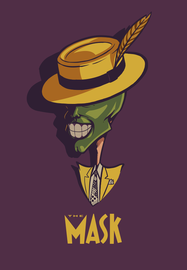 The mask b