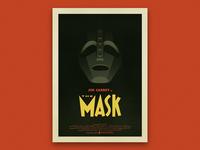 The Mask - Vintage Poster