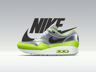 Nike Air Max 1 - Mercurial Pack