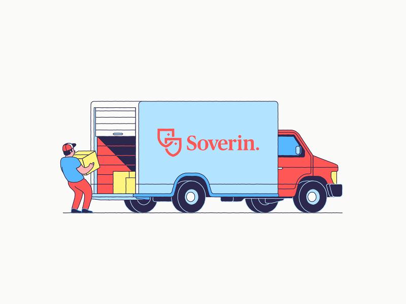 Moving Van mover van box move moving truck