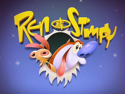 Ren & Stimpy ren stimpy show cartoon nostalgia illustration