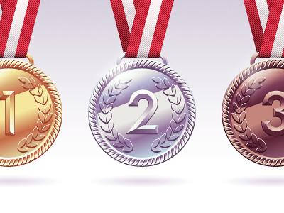 Medals medal zilver bronze gold reward prize olympics