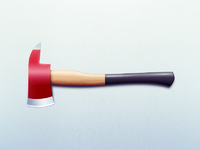 Fire axe clean