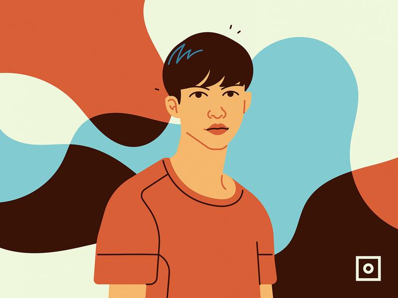 Eric Jun Wei asian portrait fashion boy character persona