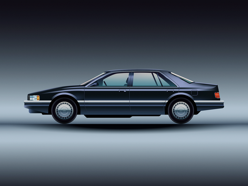 1992 Cadillac Seville vehicle sedan car