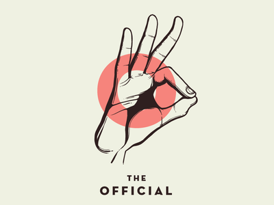 The Official Angelo White hands gestures letters design type initials