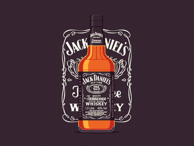 Jack Daniels whiskey drink tennessee alcohol drunk old western classic usa