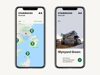 Starbucks app / Concept / Find it at