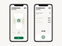 Starbucks app / Concept / Order