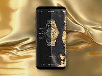NIXON web site / Concept / Mobile