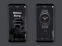 NIXON web site / Mobile