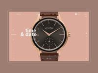 NIXON web site / Concept