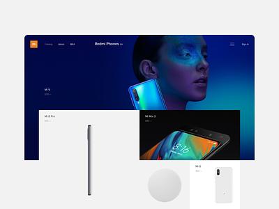 Mi Moscow Shop steel app mobile fashion project shop ux ui concept grid