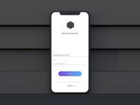 Social Sign-up-Screen-concept UI