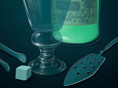How to Properly Pour Absinthe