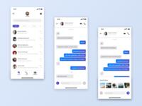Messenger App UI Design