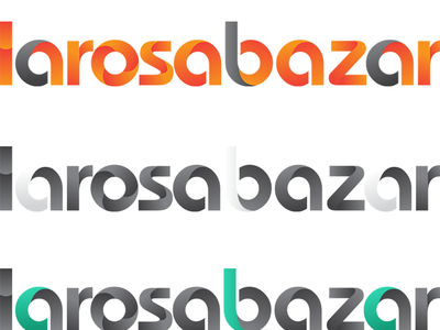 larosabazar.com logotype art ui logo alphabet illustration logo a day design logo 2d ai logo