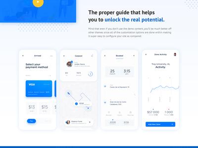 Mobbi - App Landing Page