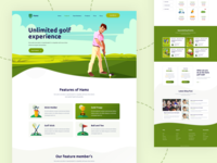 HAMZ – Download Free Golf, Sports PSD Template