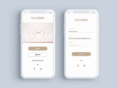 Daily UI 001 - Sign up page mobile app sign up page illustration design ux ui dailyui dribbble
