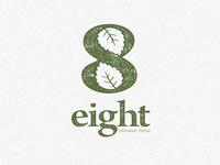 "Eight ""organic food"" Logo"