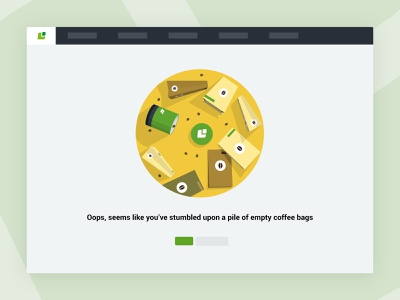 404 - Page not found illustration ux design ux coffee page not found 404 ui design ui