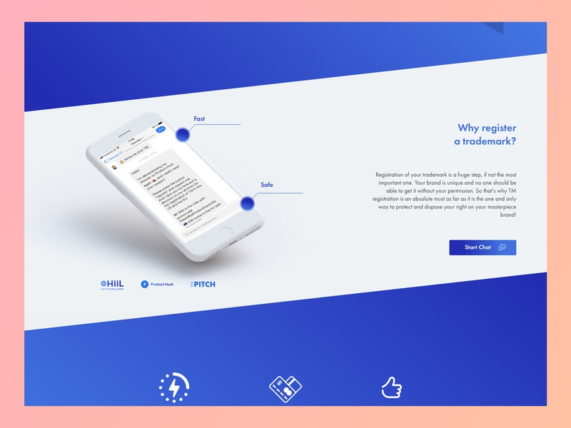 Ux Ui Of A Landing Page Part 2 By Smotrow Design On Dribbble
