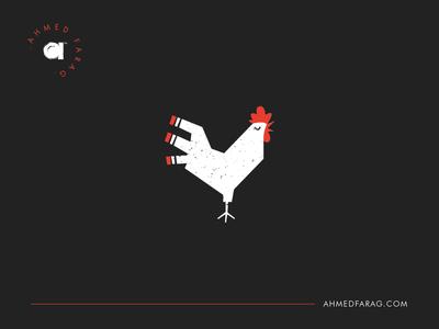 Rooster Logo logos logo monogram illustration illustrator icon bird logo chicken bird rooster animal