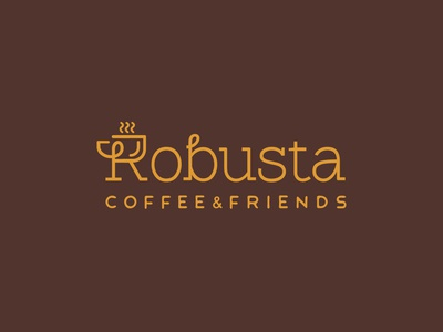 Robusta Cafe - Logo