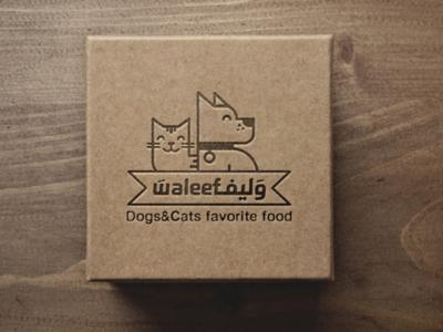 Waleef logo design