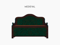 Medieval sofa