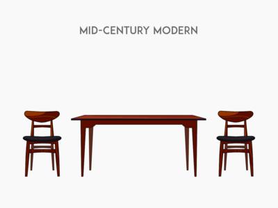 Mid-century modern