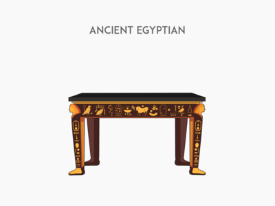 Ancient Egyptian desk