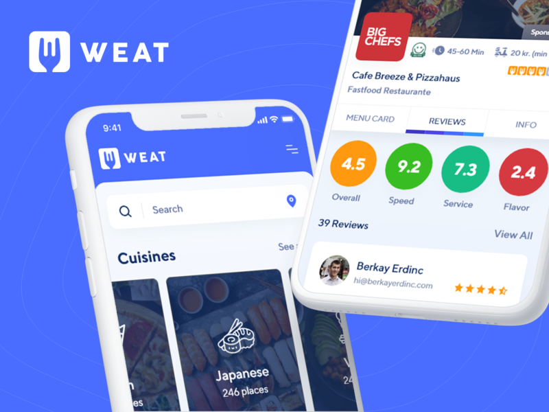 Weat Food Delivery App
