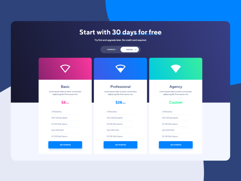 Alesta Pricing design ui-design inspirational trends web designer payments pay payment hosting uiux ui plans pricing web design library web design alesta design alesta web design library alesta