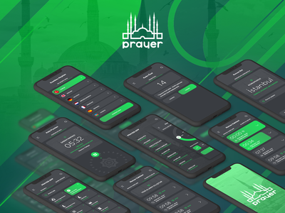 Muslim Prayer App UI Kit