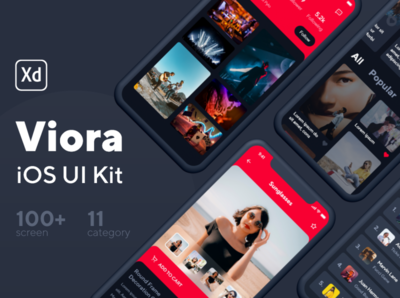 Viora iOS UI Kit