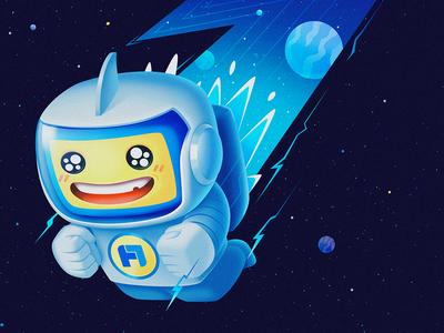 Fan ge In space