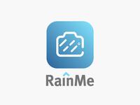 RainMe Logo Design