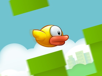 Flappy bird flappy bird game concept hd tiny ios